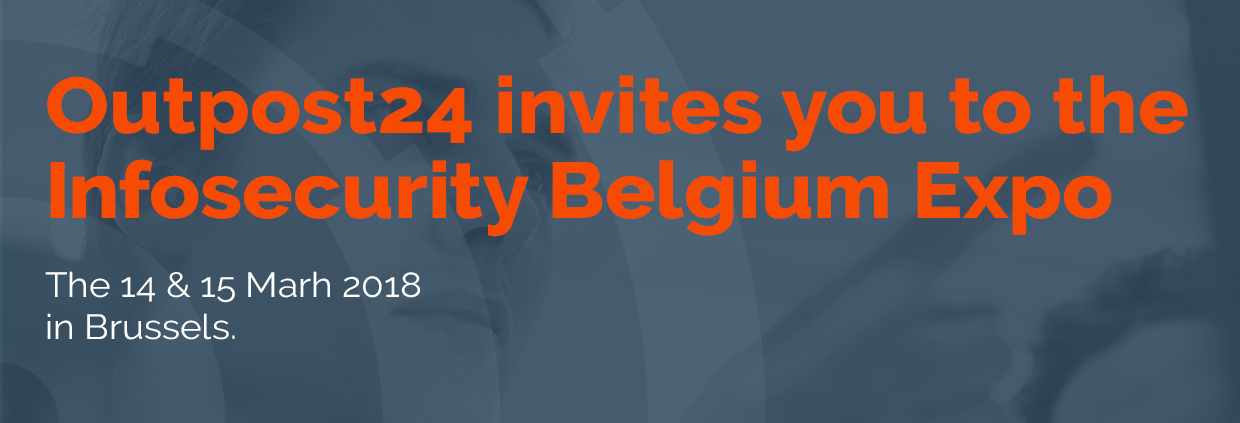 Outpost24 attends Infosecurity Belgium 2018