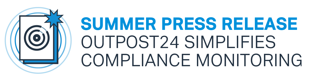 Summer press release: Outpost24 Simplifies Compliance Monitoring